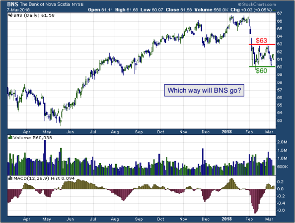 1-year chart of Nova (NYSE: BNS)