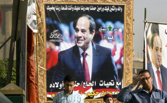 Watchdog: Nations helped Egypt's military consolidate power