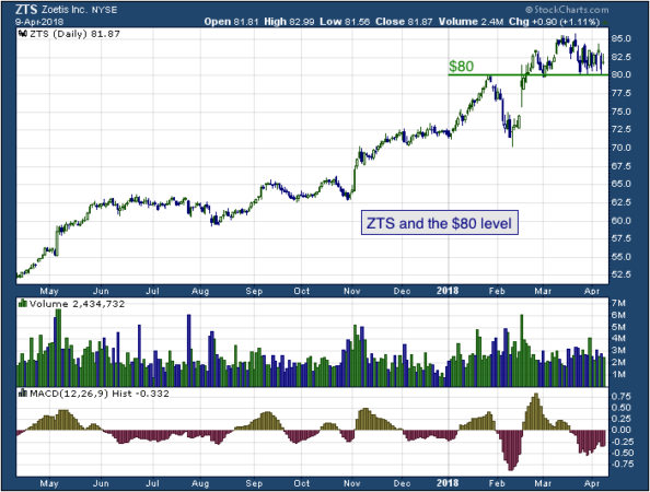 1-year chart of Zoetis (NYSE: ZTS)