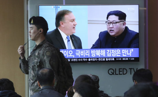 The Latest: US says it's maintaining pressure on North Korea