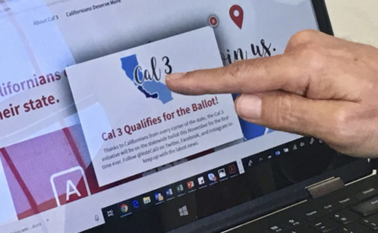 Court blocks measure asking voters to split California in 3
