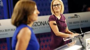 "McSally accuses Sinema of backing ""treason"" in Senate debate"