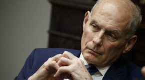 The Latest: Trump considering 4 to be next chief of staff