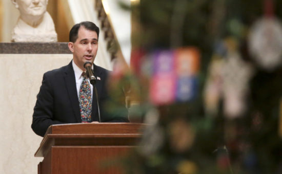 Walker says Wisconsin governor's powers will remain strong