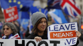 UK's May: 'Uncharted waters' if lawmakers reject Brexit deal