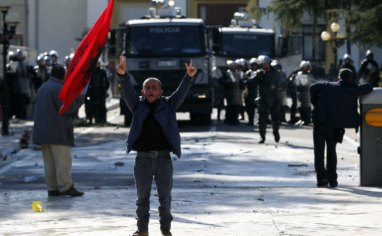 Albania opposition holds new rally, calls for early election