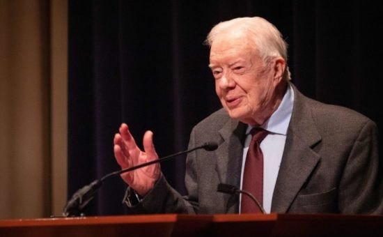 In US, 2020 candidates seek counsel from Jimmy Carter