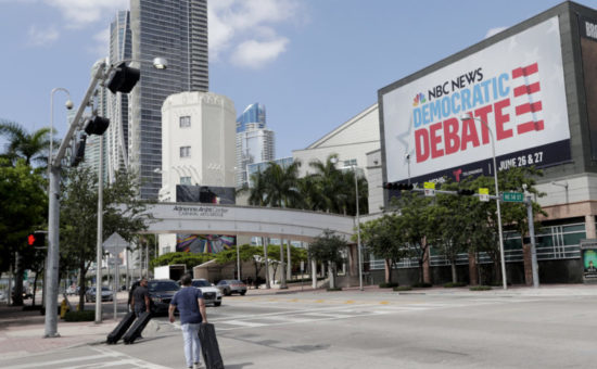 Stakes high for NBC News ahead of 2-night Democratic debate