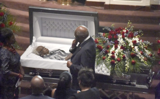 Leading Democrats gather for funeral of SC's Emily Clyburn