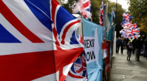 UK's party leaders brace for Brexit election