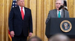 Trump's CHOICE Words For McConnell…