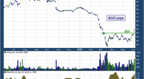 Chart of the Day: Anheuser-Busch InBev (BUD)