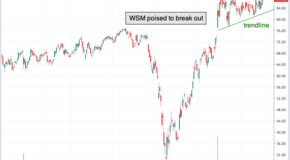 Chart of the Day: Williams-Sonoma (WSM)