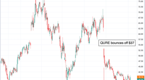 Don't Miss This Trade in uniQure NV (QURE)