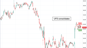 Find Out: A Key Level of Support Was Just Broken in Domtar (UFS)