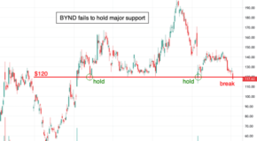 Beyond Meat (BYND) fails to hold major support